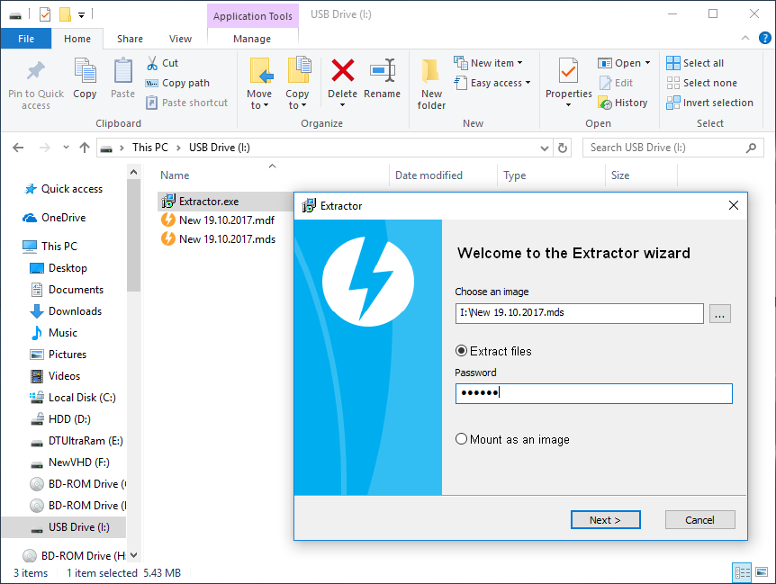 Protect a USB - DAEMON Tools Ultra Help